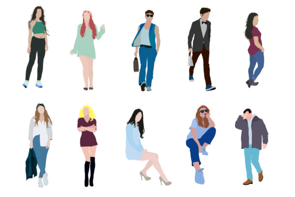 Free Flat People Vector