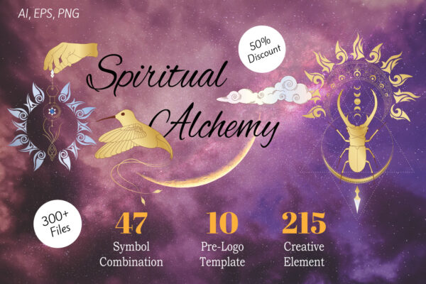 Spiritual Alchemy Symbol and Elements
