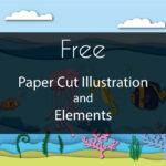 Free Paper Cut Illustration Vol 2
