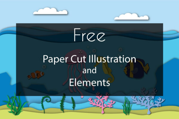 Free Paper Cut Illustration Vol 2
