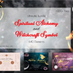 Spiritual Alchemy Witchcraft Symbol Bundle