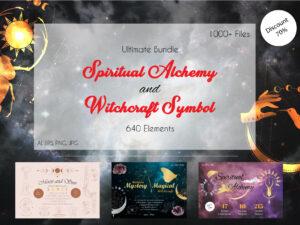 Spiritual Alchemy Witchcraft Symbol Bundle