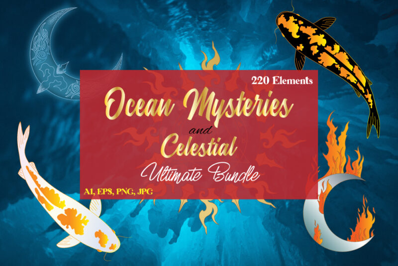 Ocean Mysteries and Celestial – Discount 50%