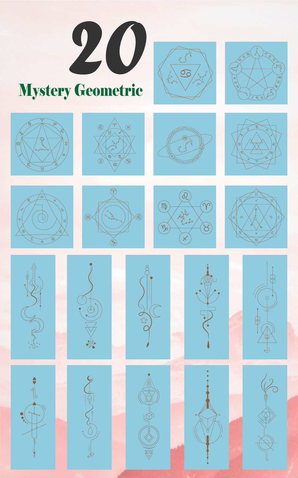 Mystery Geometric Elements