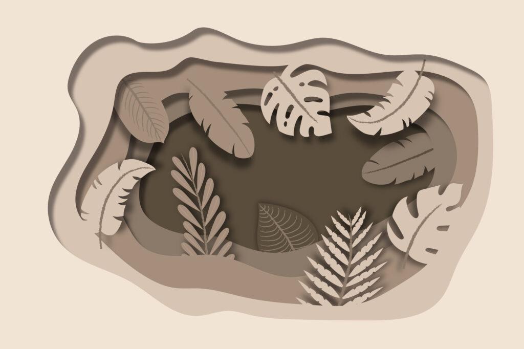 Free Paper Cut Illustration