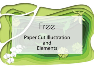 Free Paper Cut Clipart and Elements