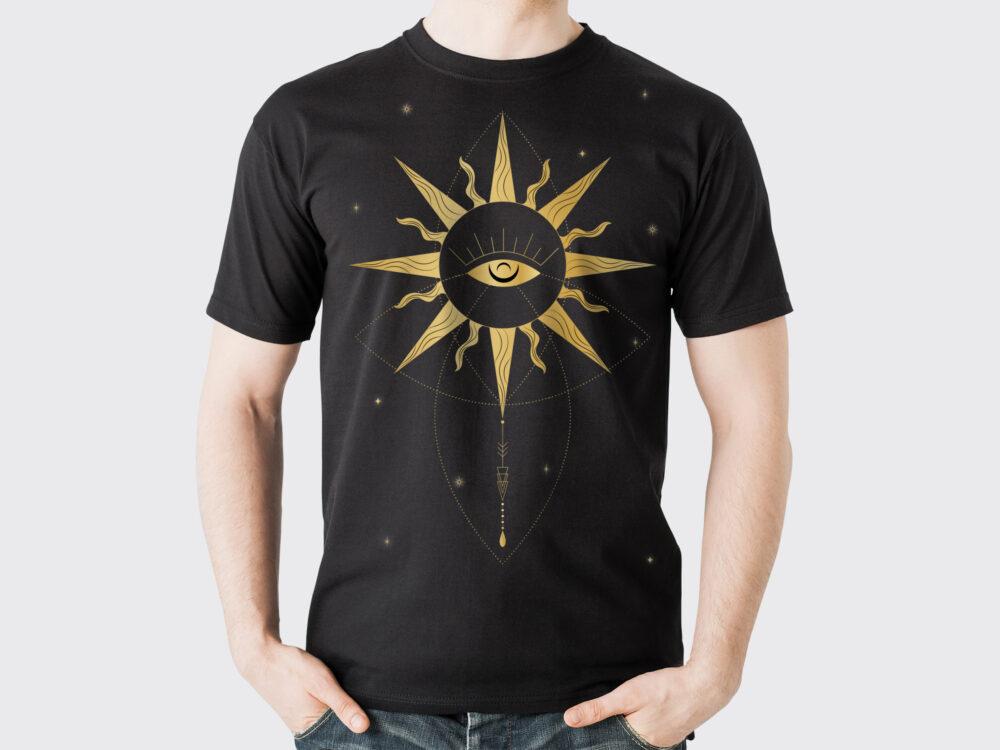 Man T-Shirt Mockup
