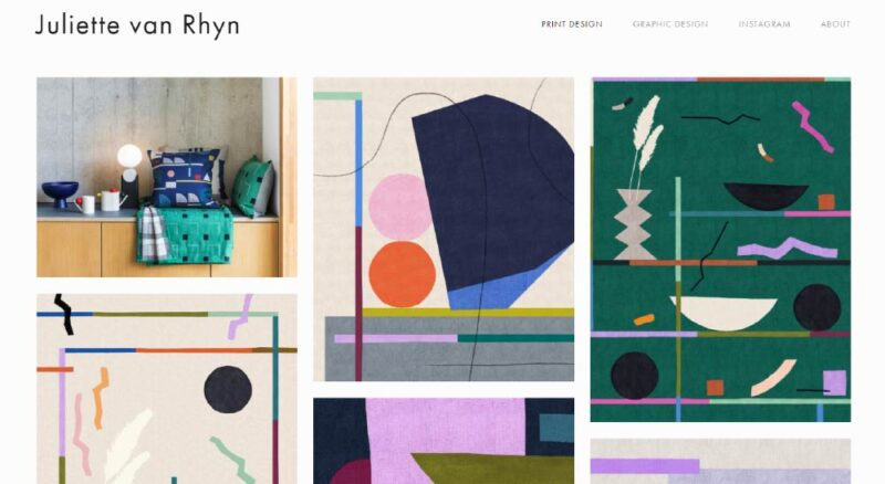 Juliette van Rhyn. How To Create An Awesome Graphic Design Portfolio