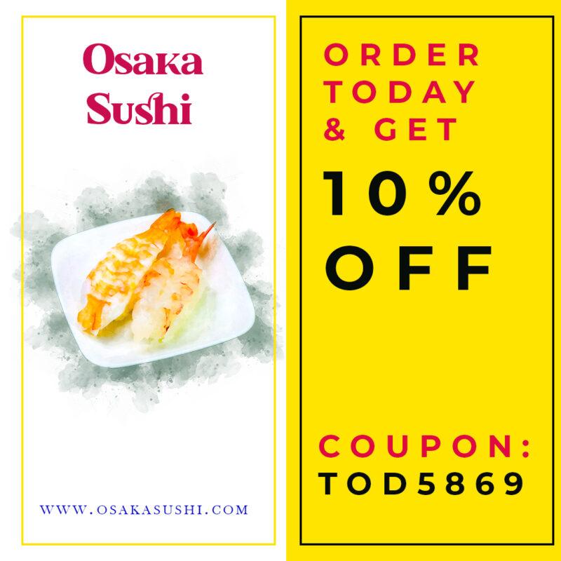 Sushi Discount Coupon