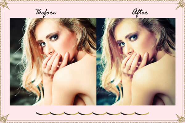 93 Beauty Portrait Lightroom Preset