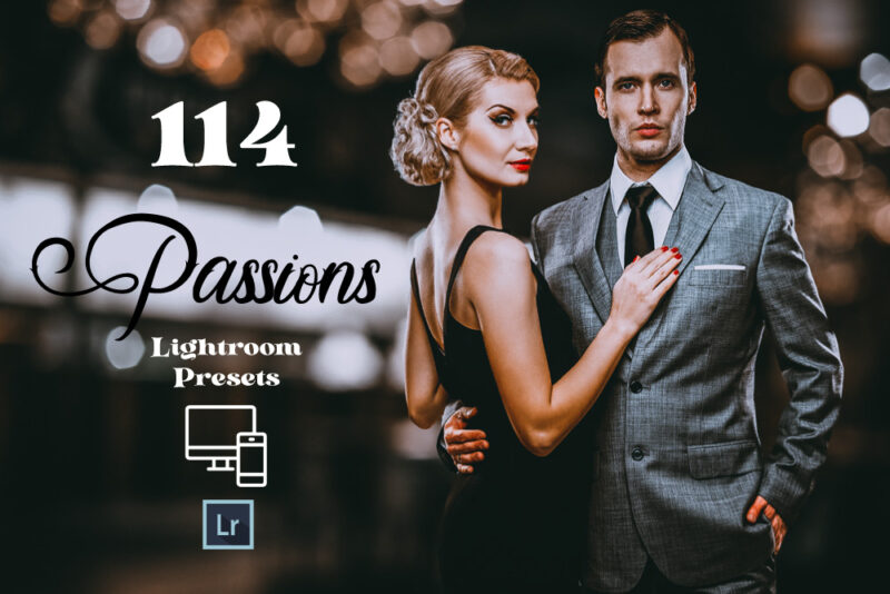 114 Passions Adobe Lightroom Preset
